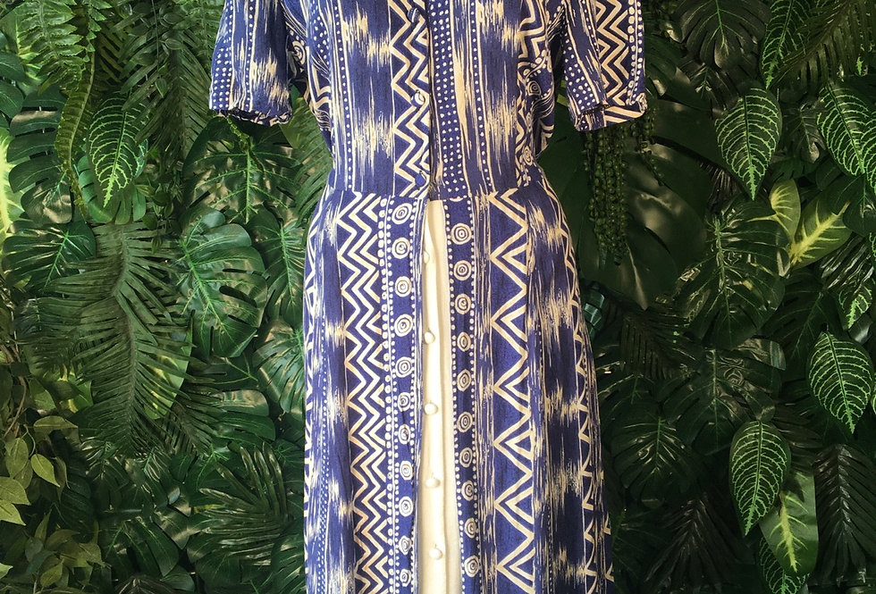 C&A graphic90s dress (size 16)