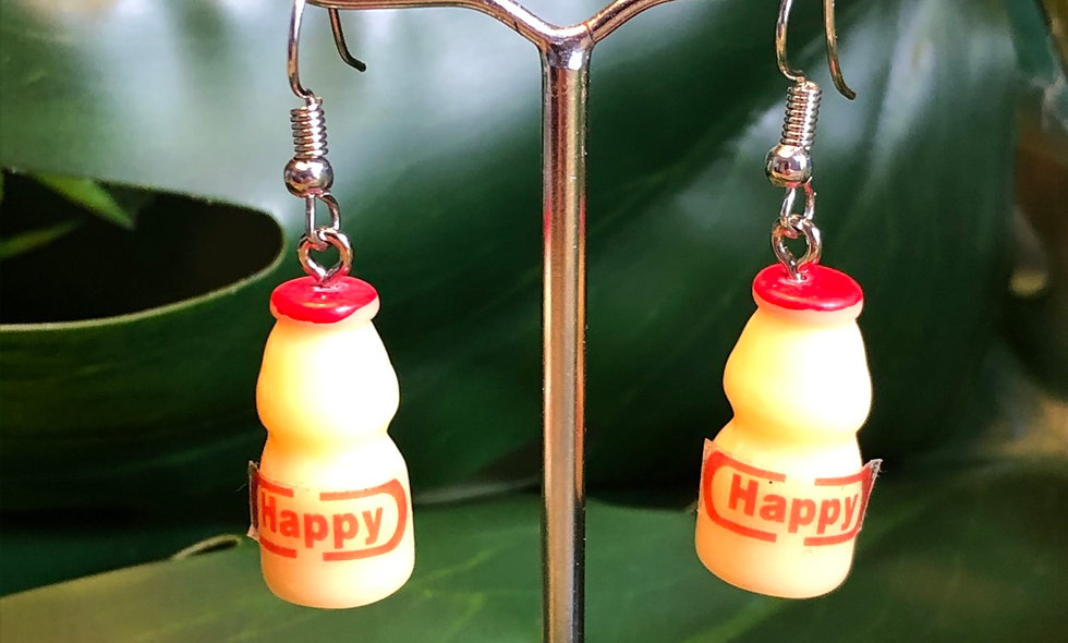 Happy juice earrings