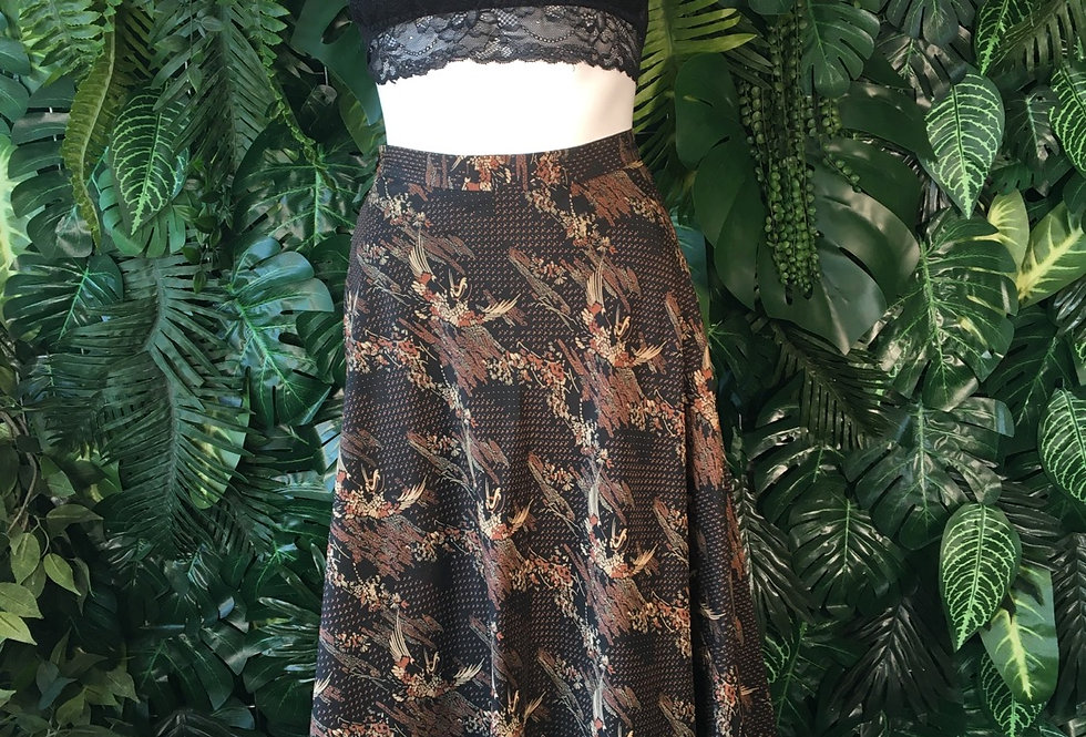 Sixth Sense graphic skirt (size 8)