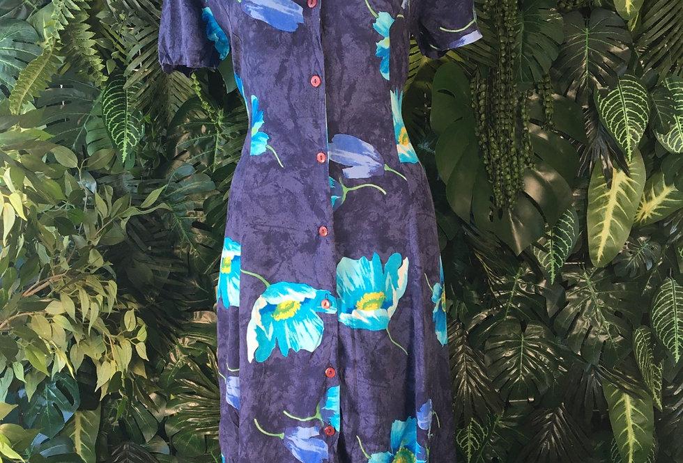 Floral summer dress (size 16)