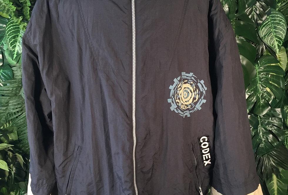 Box Jeans fleece lined hooded ski jacket (L)