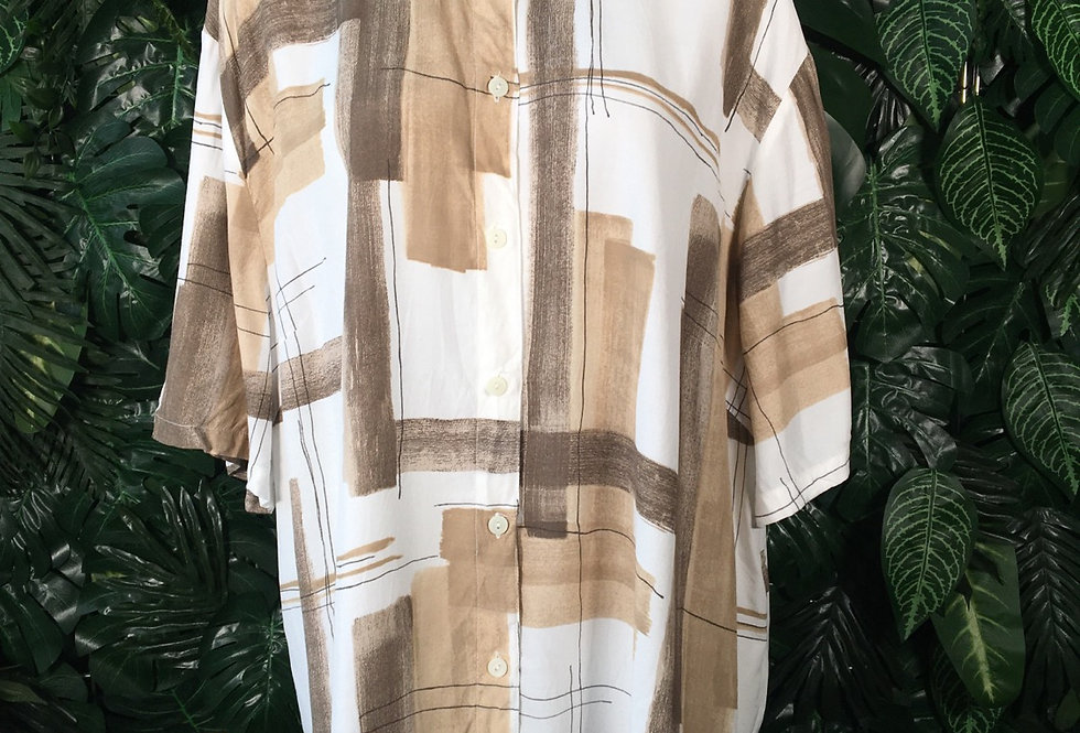 Sonja abstract blouse (size 24)