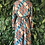 Thumbnail: 80s button neck dress