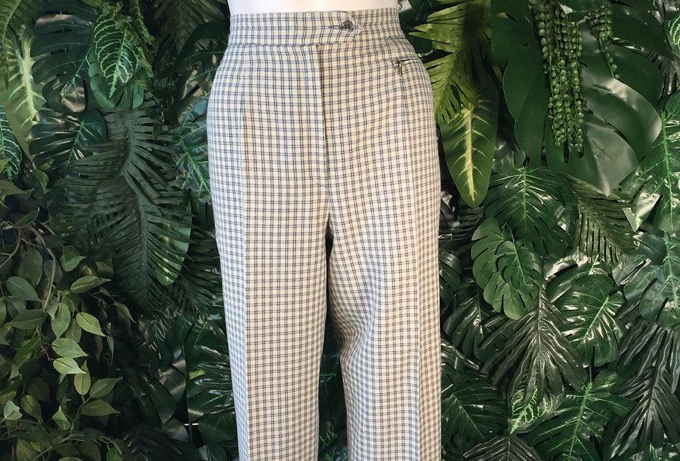 Y2K plaid trousers (size 10)