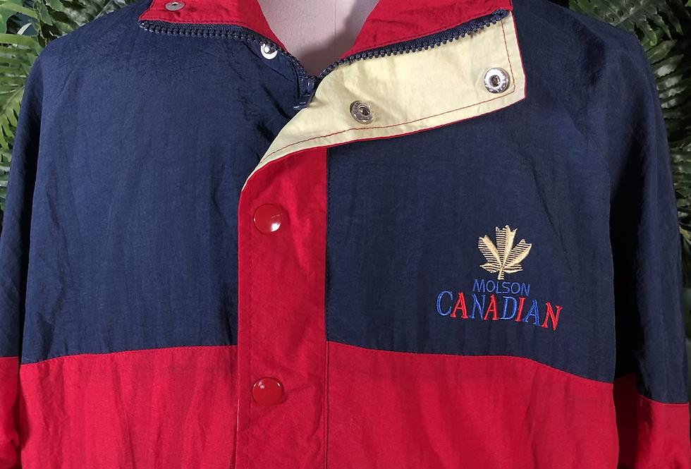 Molsen Canadian beer jacket