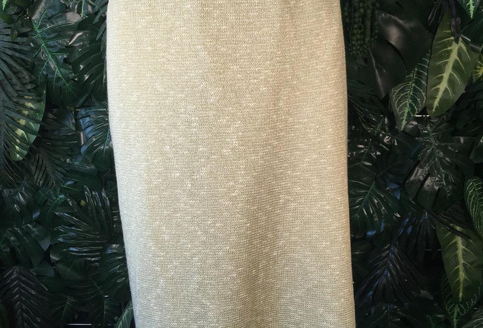 Peter Luft woven cotton skirt