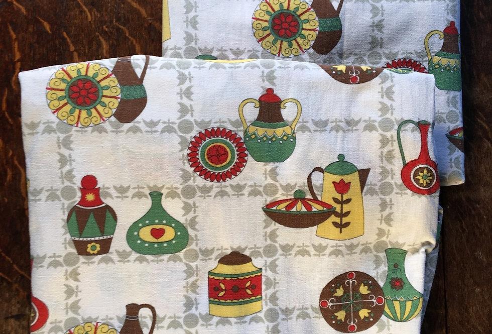 1970s Kitchen Curtains