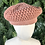 Thumbnail: Blush peach wool hat