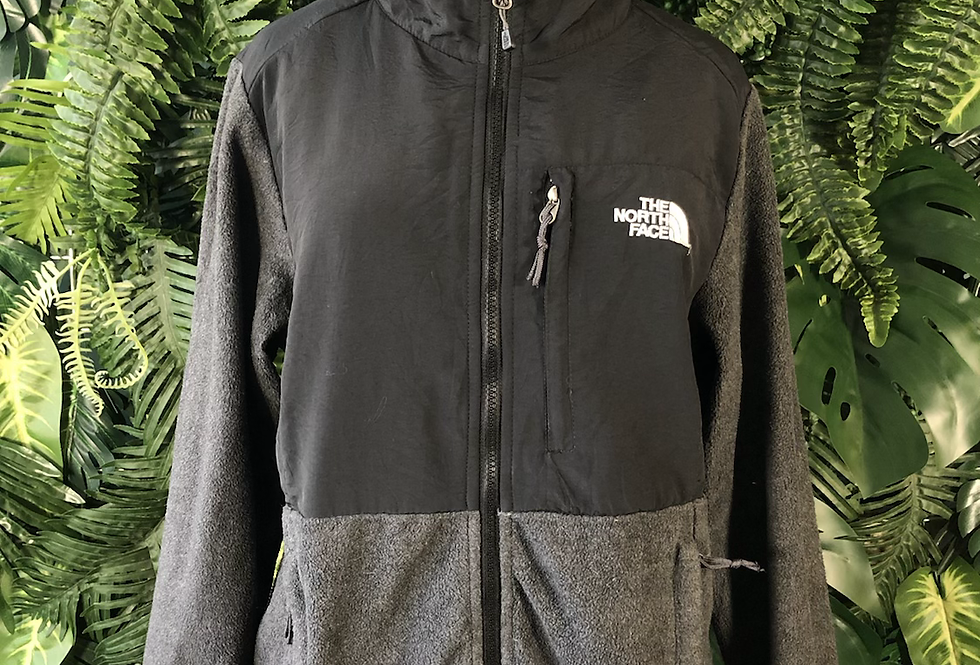 NORTHFACE grey & black fleece