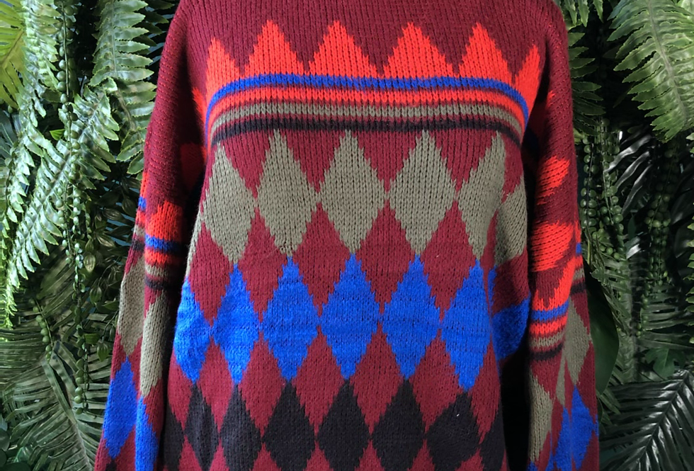 Our of bounds 90s knit
