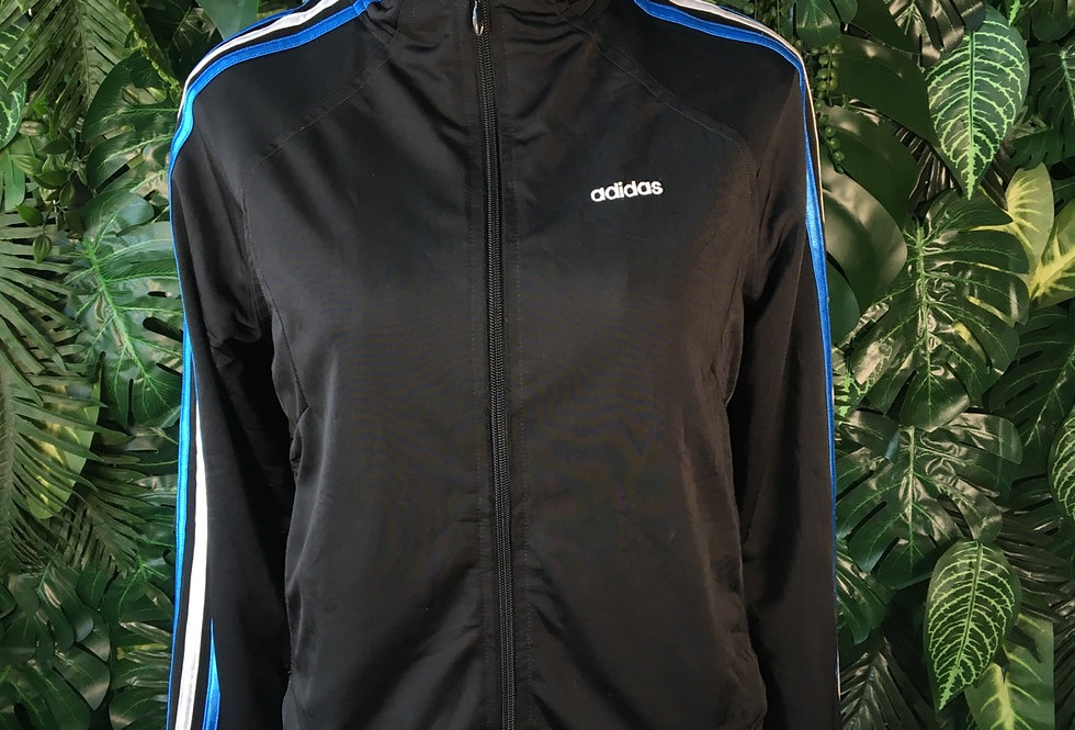 Adidas hooded track top (M)