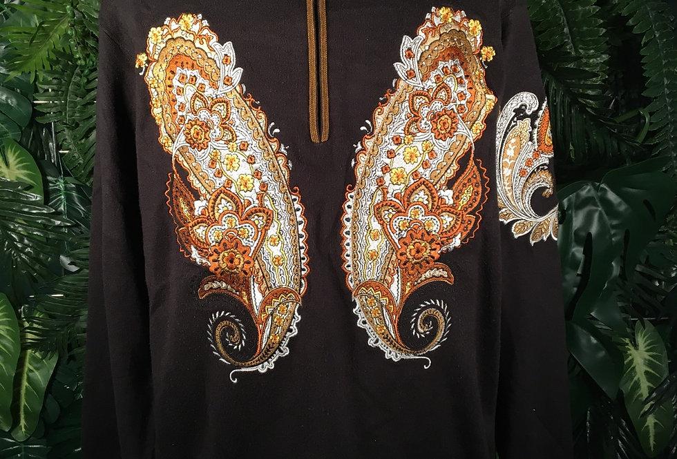 Prestige Embroidered Sweater (2X)