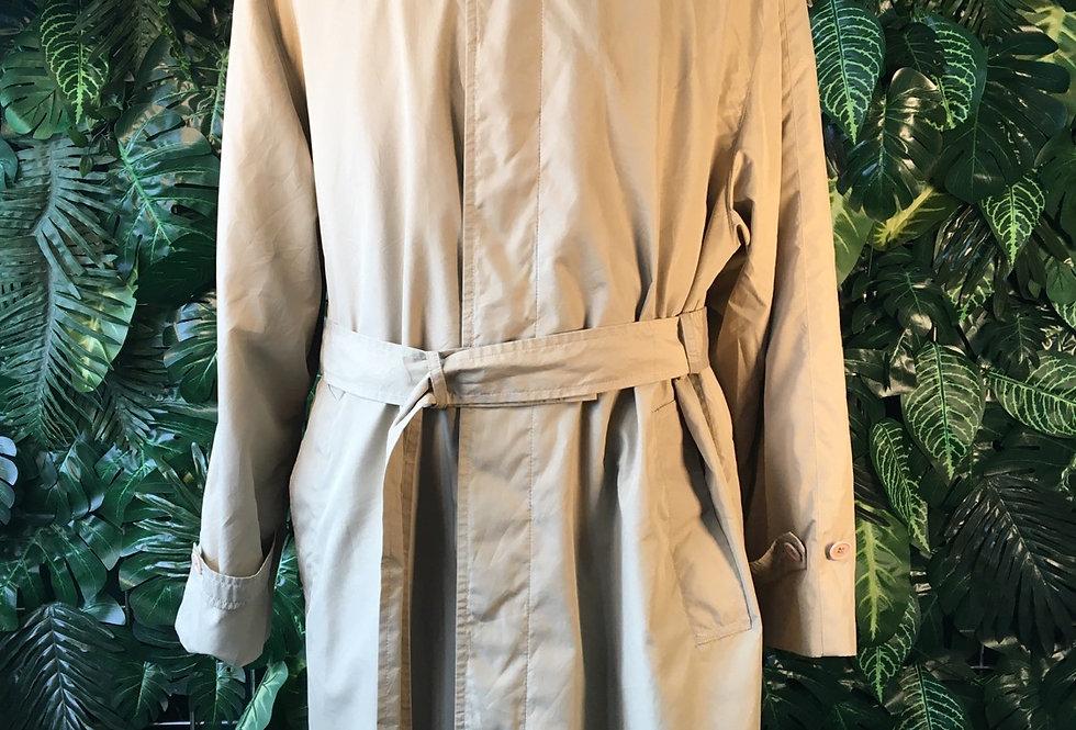 LL Bean camel overcoat (M)