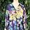 Thumbnail: 80s sheer peplum blouse