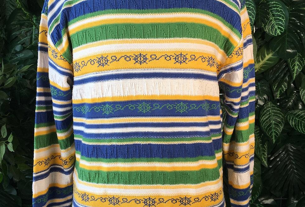 Angel's striped 90s sweater (M)