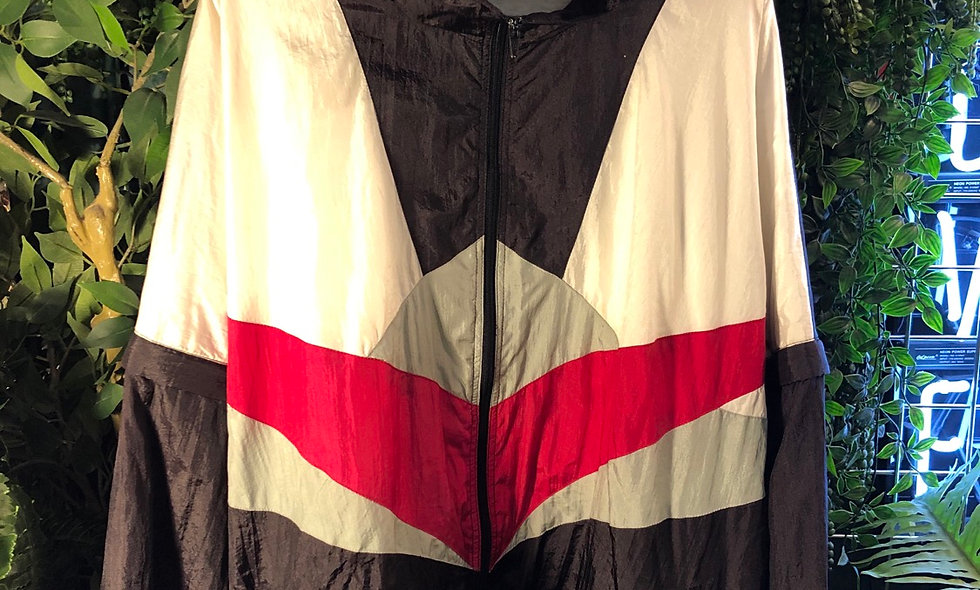 90s shell track top