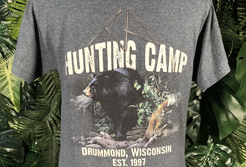 Hunting camp 🏕 T-shirt