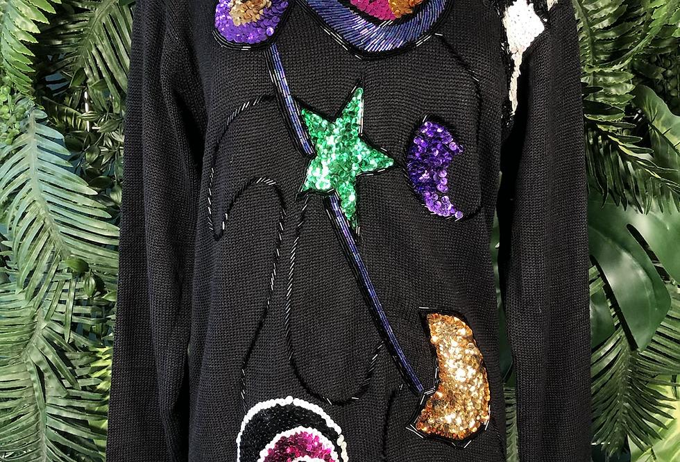 Victoria harbour sequin sweater