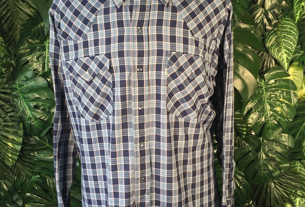 Levi's plaid shirt (XL)