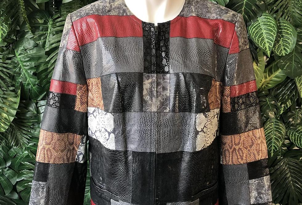 Zaspel patchwork jacket