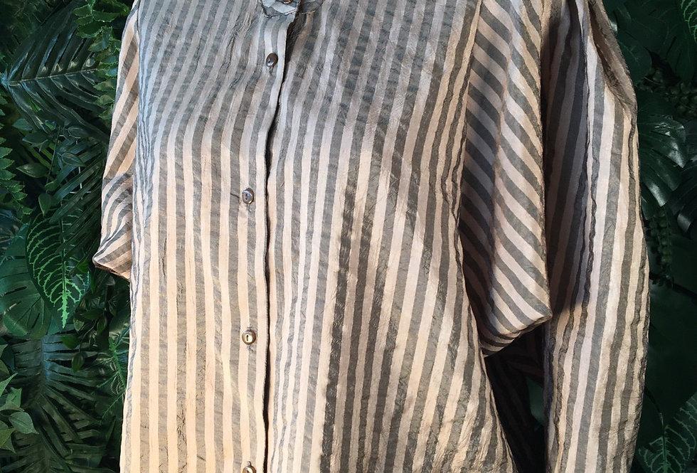 Yvonne Select striped shirt (size 38)