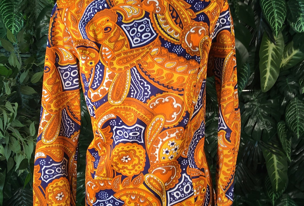 Bellanet 1970s blouse (size 46)