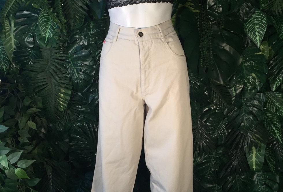 Askari cream straight leg jeans (size 16)