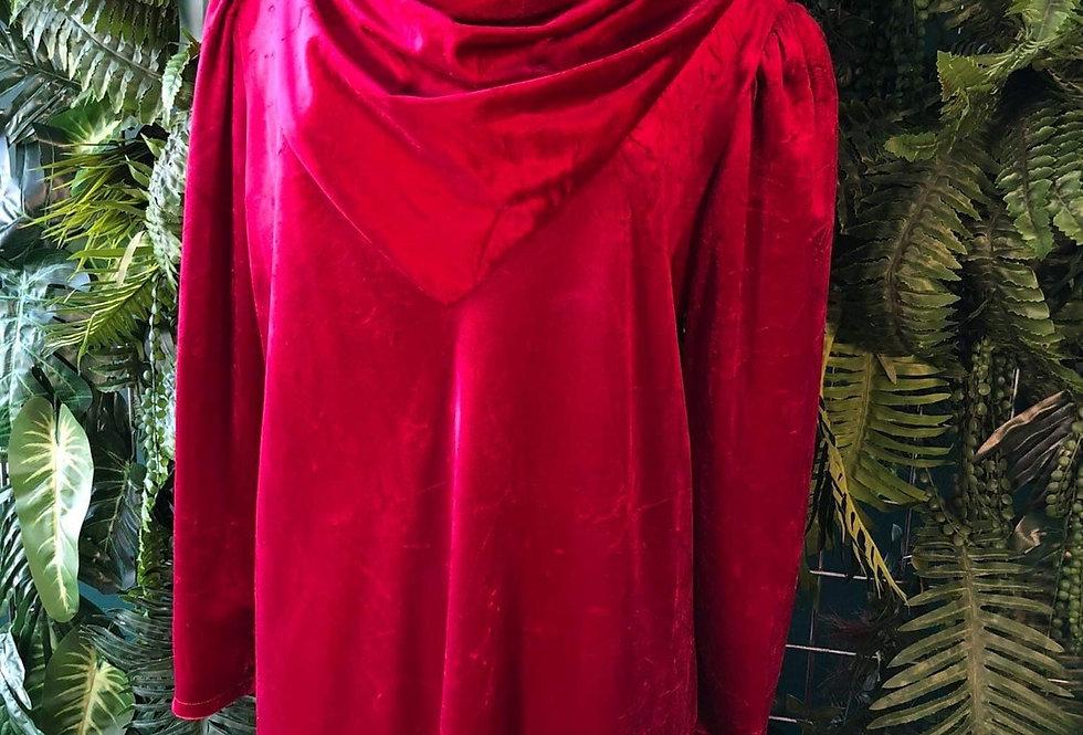 Especially Yours Velvet Cowl Neck Dress (12-14)