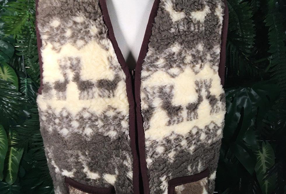 Super Soft Reindeer Vest (XXL)