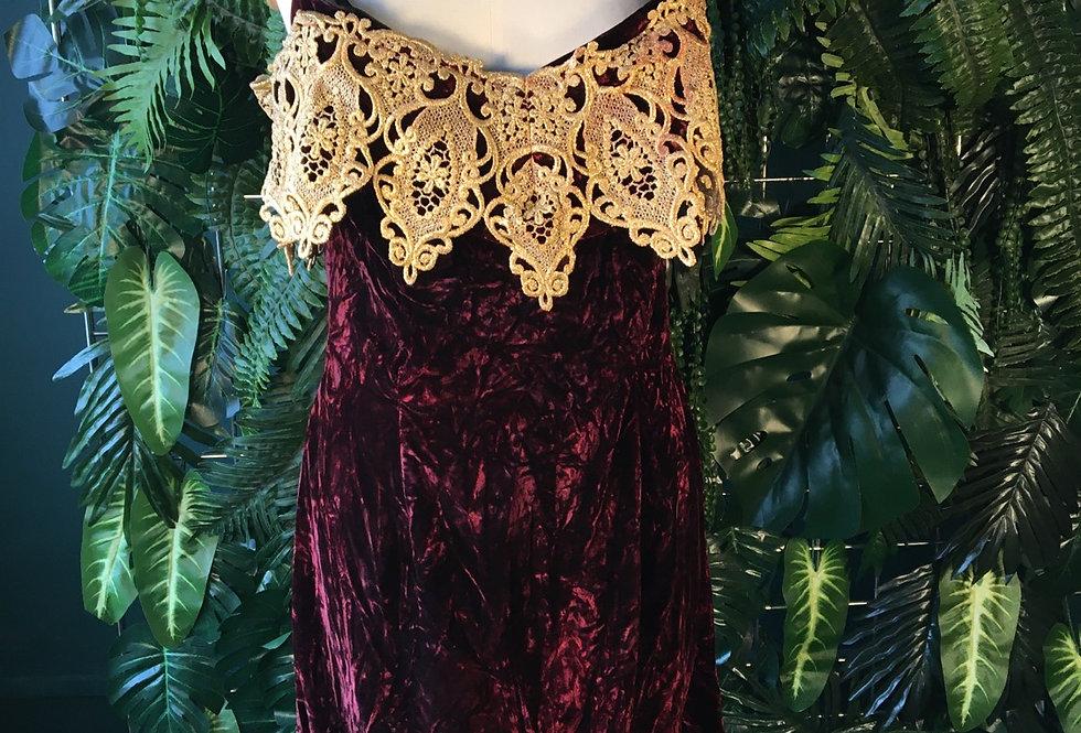 Scott McClintock Lace Trim Dress (Size 14)