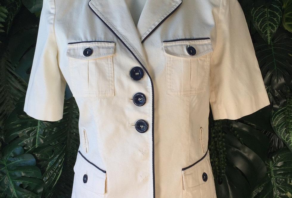 Love Moschino half sleeve safari jacket (size 10)