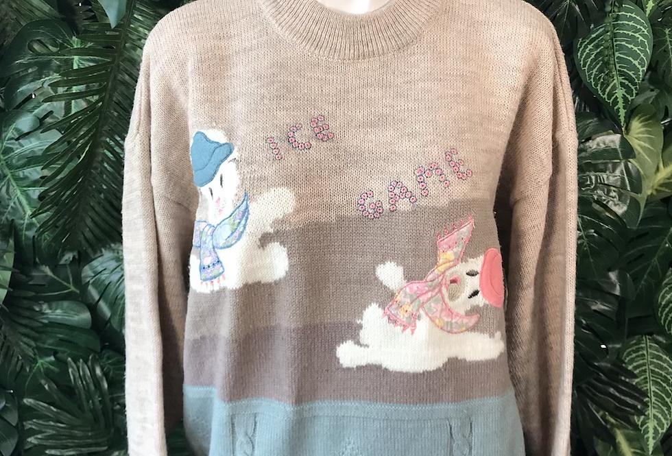 Ice game bear knit (m)