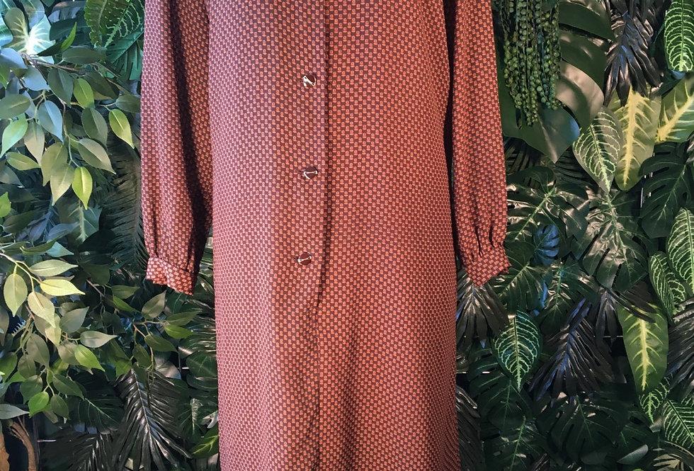 70s shift dress