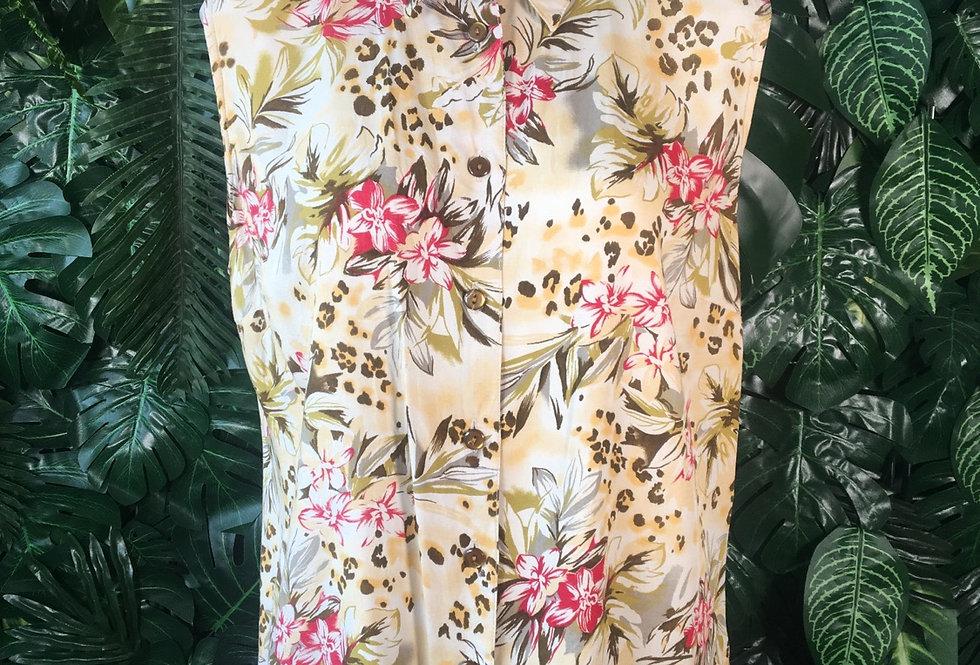 Kingfield floral vest (size 42)