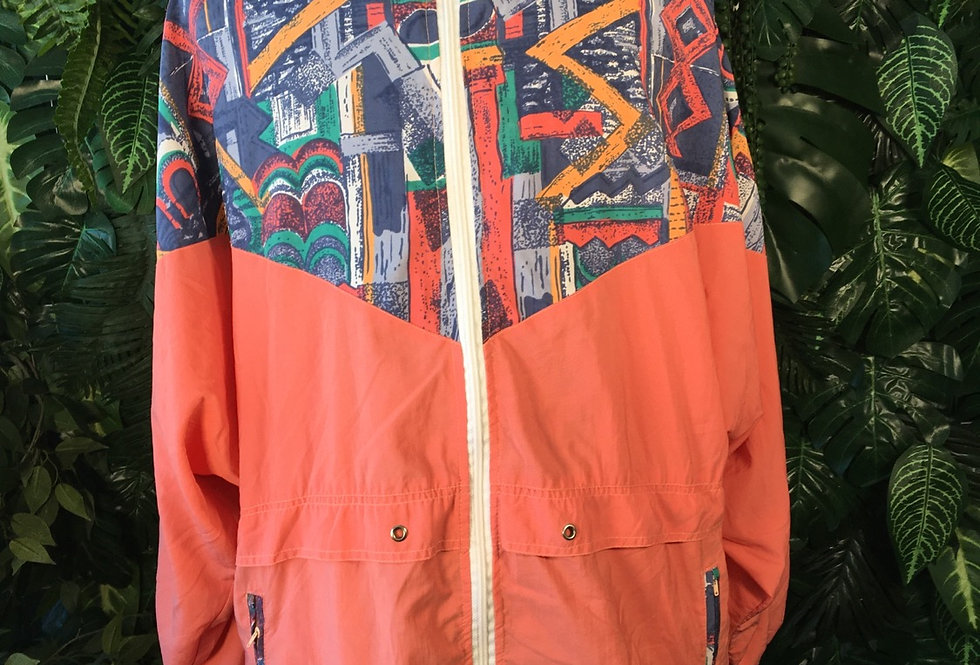 Hooded 90s shell coat (XL)