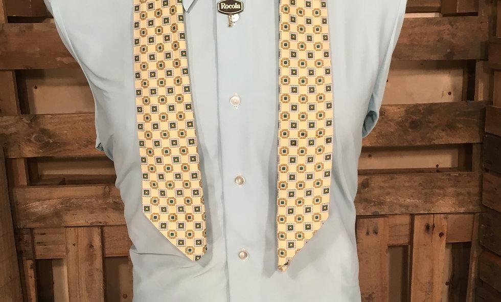 Men's vintage smoking scarf