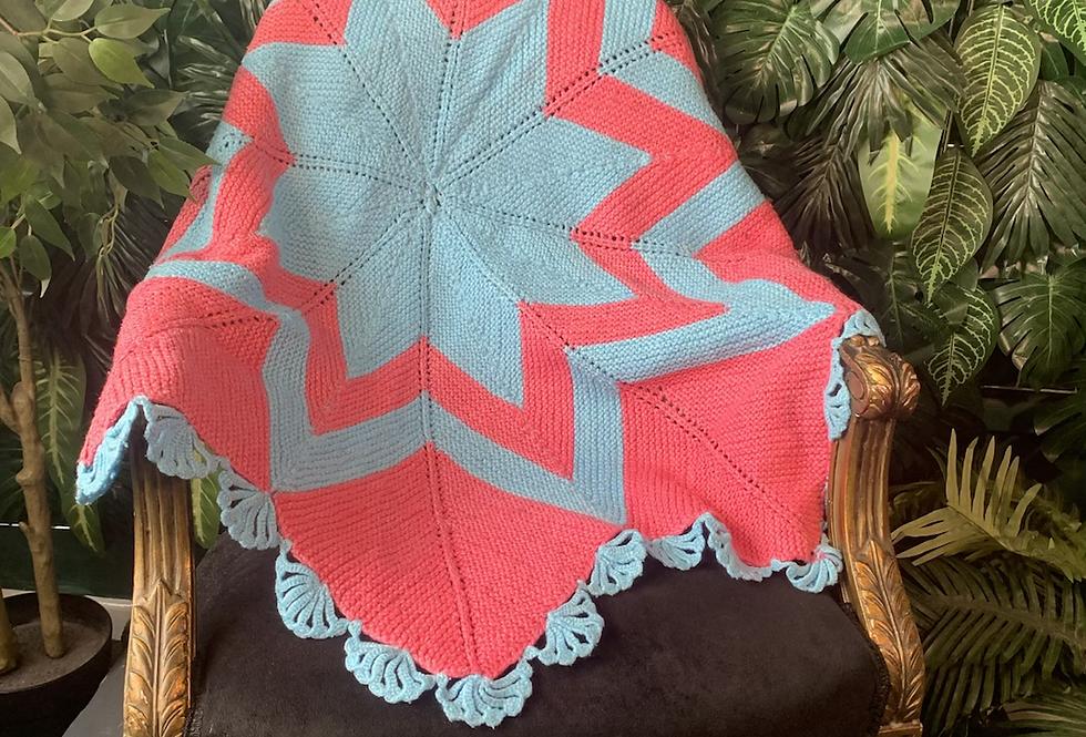 Handmade star blanket