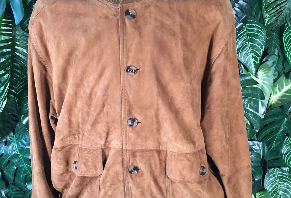 Suede bomber (XL)