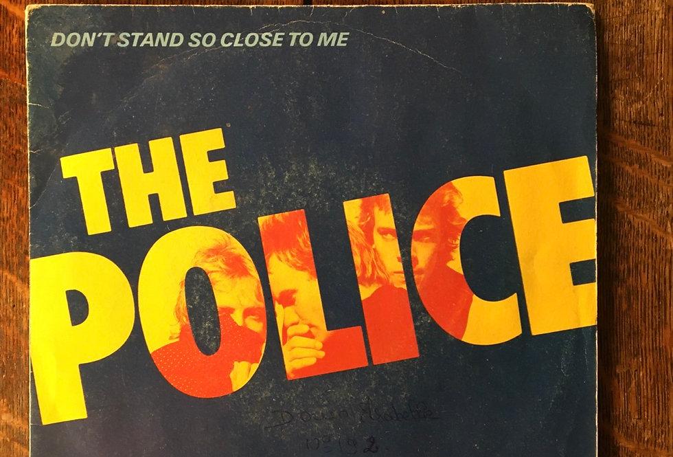 "Police 8"" Vinyl"