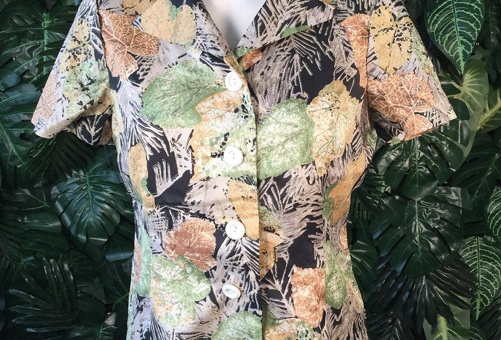 Autumn leaf blouse (size 10)