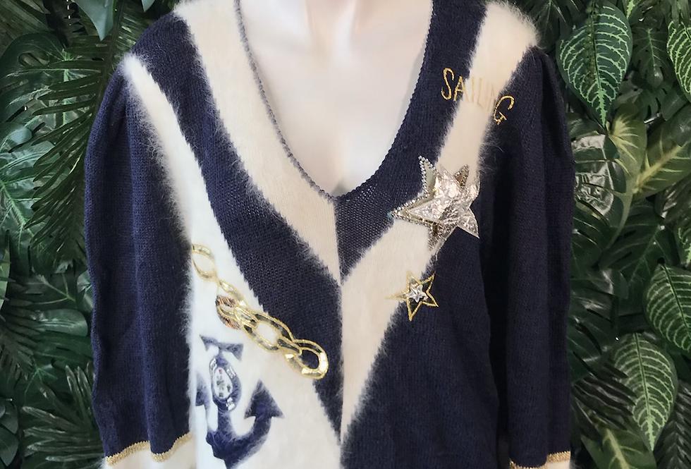 1990s sailing knit (M)
