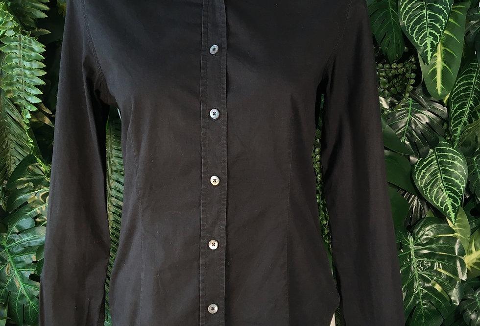 Burberry classic black shirt (S)