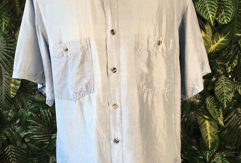 Luigi Lamberto silk shirt (M)