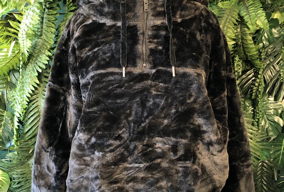 UGG faux fur hoodie