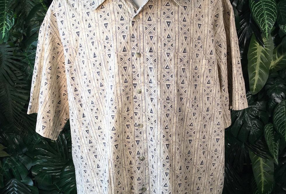Mario Ferrari 90s geometric shirt