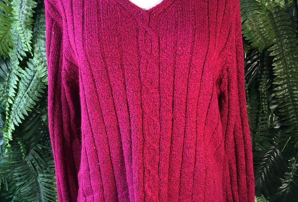 Aran Style Cable Knit (M)
