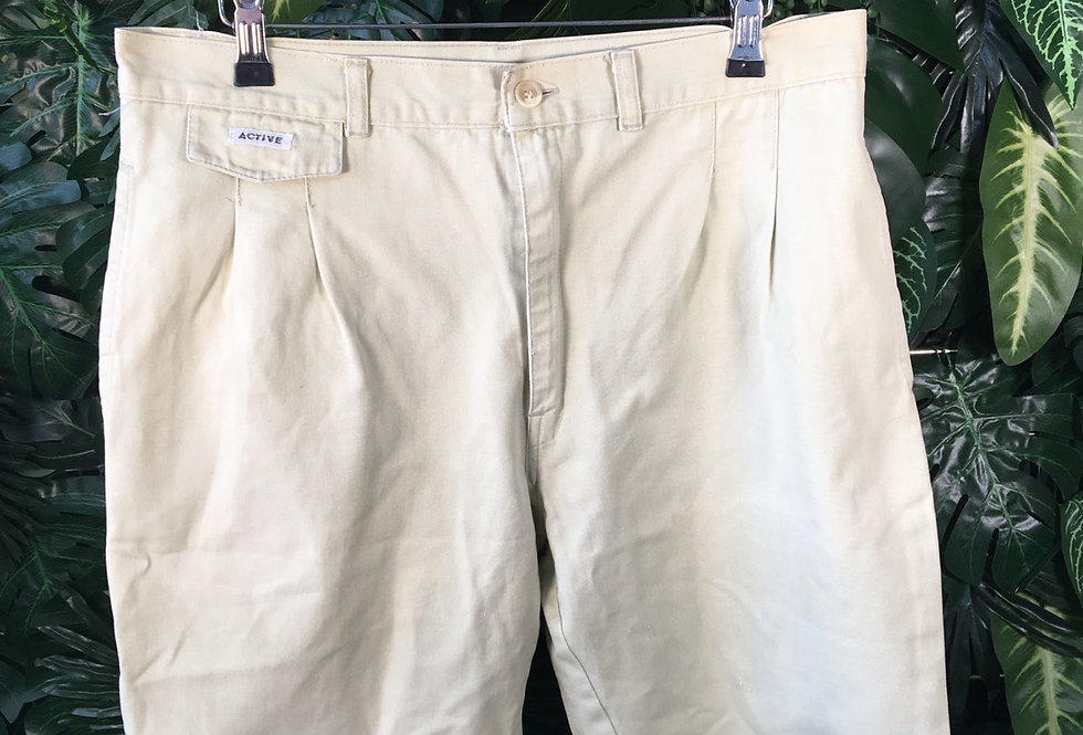 Active pale green shorts (W34)