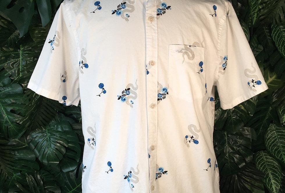 Hollister snake print shirt (M)