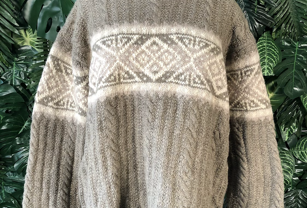 Nomadic traders hand knitted jumper