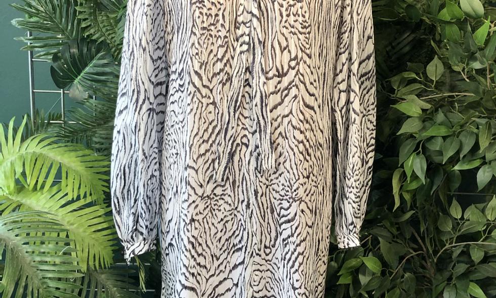 1980s sheer zebra 🦓 dress